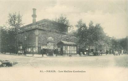 """CPA FRANCE 75001 """"Paris, les Halles centrales"""""""