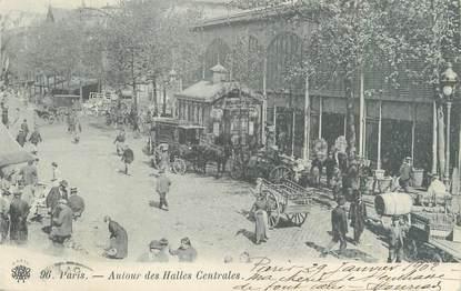 """CPA FRANCE 75001 """"Paris, autour des halles centrales"""""""