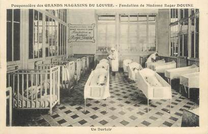 """CPA FRANCE 75001 """"Paris, pouponnière des grands magasins du Louvre"""""""