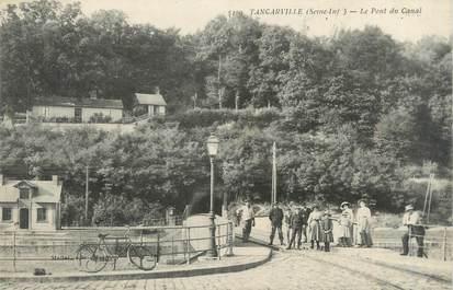 """CPA FRANCE 76 """"Tancarville, le pont du canal"""""""