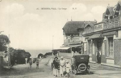 """CPA FRANCE 76 """"Mesnil Val, la Gorge"""""""