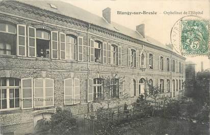 """CPA FRANCE 76 """"Blangy sur Bresle, orphelinat de l'hôpital"""""""