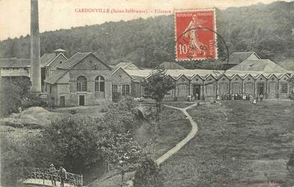"""CPA FRANCE 76 """"Cardonville, filature"""""""