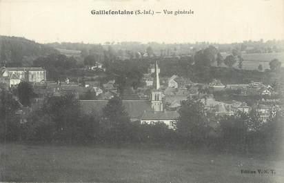 """CPA FRANCE 76 """"Gaillefontaine, vue générale"""""""