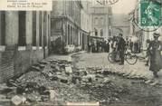 """76 Seine Maritime CPA FRANCE 76 """"Elbeuf, la rue de l'hospice après l'orage"""""""