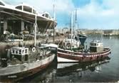 """76 Seine Maritime CPSM FRANCE 76 """"Dieppe, les bateaux de pêche à quai"""""""