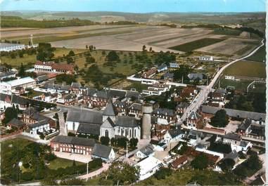 """CPSM FRANCE 76 """"Saint Nicolas d'Aliermont, vue générale aérienne"""""""
