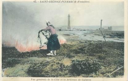 """CPA FRANCE 29 """"Saint Guénolé Penmarc'h, vue générale de la côte"""""""