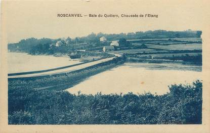 "CPA FRANCE 29 ""Roscanvel, baie du Quélern"""