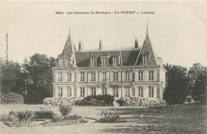 """CPA FRANCE 29 """"La Forest, Loctudy, les châteaux"""""""