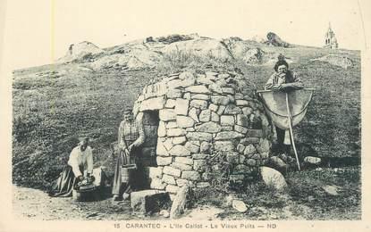 """CPA FRANCE 29 """"Carantec, l'Ile Callot, le vieux puits"""""""