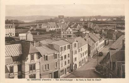 "CPA FRANCE 29 ""Carantec, rue Albert Louppe"""
