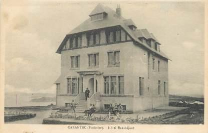 "CPA FRANCE 29 ""Carantec, hôtel Beauséjour"""