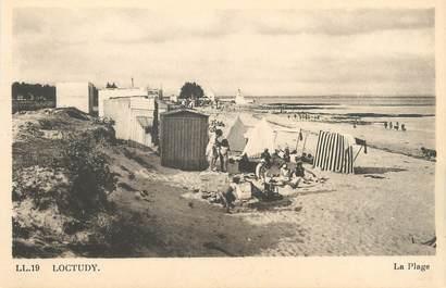 "CPA FRANCE 29 ""Loctudy, la plage """