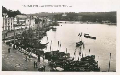 """CPSM FRANCE 29 """"Audierne, vue générale vers le pont"""""""