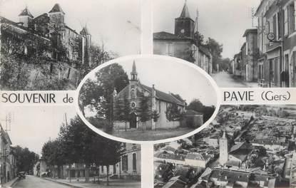 """CPSM FRANCE 32 """"Souvenir de Pavie"""""""