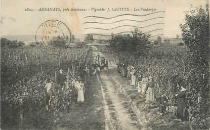 """CPA FRANCE 33 """"Arbanats près Bordeaux"""""""