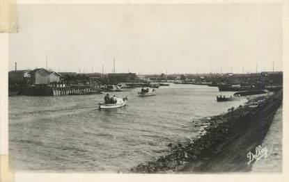 """CPSM FRANCE 33 """"Gujan Mestras, le port de Larros"""""""