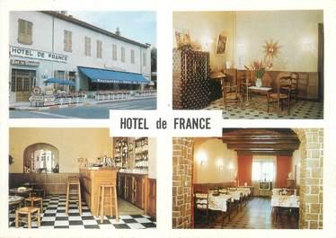"""CPSM FRANCE 38 """"Saint Marcellin, hôtel de France"""""""