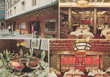 "CPSM FRANCE 75008 ""Paris, China Town restaurant"""