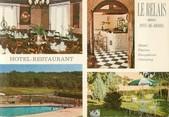 """46 Lot CPSM FRANCE 46 """"Pont de Rhodes, hôtel restaurant Le Relais"""""""