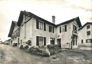 "CPSM FRANCE 64 ""Bassussarry, hôtel restaurant Abeberry Lasserre"""