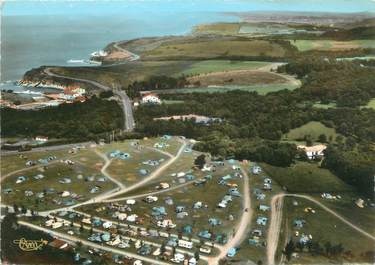 "CPSM FRANCE 64 ""Hendaye"" / CAMPING"
