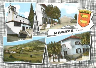 "CPSM FRANCE 64 ""Macaye"""