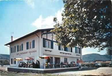 "CPSM FRANCE 64 ""Ibarron, hôtel restaurant Fagoaga"""