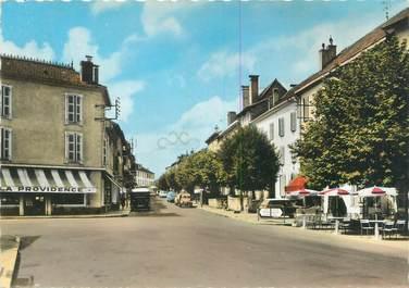 """CPSM FRANCE 64 """"Saint Palais, place de l'hôtel de ville et rue Thiers"""""""