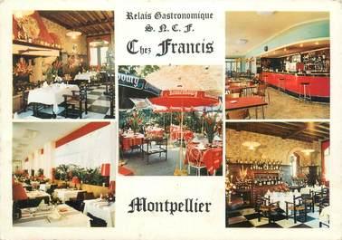 """CPSM FRANCE 34 """"Montpellier, chez Francis, relais gastronomique"""""""