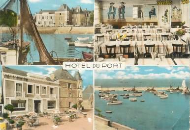 "CPSM FRANCE 44 ""Piriac sur Mer, hôtel du port"""