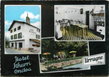 "CPSM FRANCE 64 ""Urrugne, hôtel Ithurri Ondoa"""