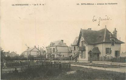 """CPA FRANCE 14 """"Riva Bella, avenue de l'industrie"""""""