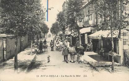 "CPA FRANCE 14 ""Riva Bella, la rue de la Mer"""