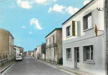 "CPSM FRANCE 85 ""La Taillée, la rue Principale"""