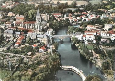 """CPSM FRANCE 85 """"Mareuil sur Lay, vue panoramique aérienne"""""""