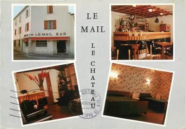 """CPSM FRANCE 17 """"Le château d'Oléron, le Mail, le château"""""""
