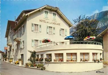 """CPSM FRANCE 74 """"Bellevaux, hôtel de la Cascade"""""""