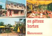 """37 Indre Et Loire CPSM FRANCE 37 """"Chenonceaux, restaurant au gâteau Breton"""""""