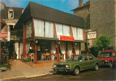 """CPSM FRANCE 22 """"Saint Cast, hôtel de l'Espérance"""" / AUTOMOBILE"""