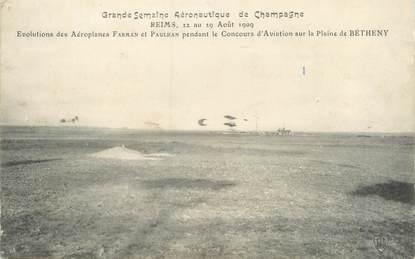 """CPA FRANCE 51 """"Reims, grande semaine aéronautique de champagne"""""""