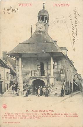 """CPA FRANCE 51 """"Vieux Fismes, ancien hôtel de ville"""""""