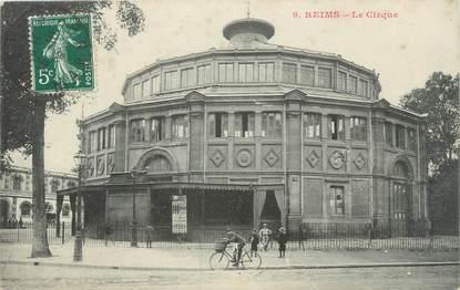 "CPA FRANCE 51 ""Reims, le cirque"""