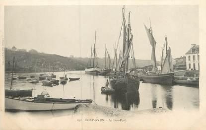 """CPA FRANCE 29 """"Pont Aven, le bas port"""""""