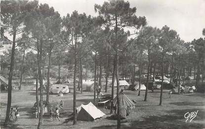 """CPSM FRANCE 85 """"Saint Jean de Monts, camp du Touring Club"""""""