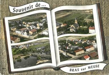 """CPSM FRANCE 55 """"Bras sur Meuse, vue générale"""""""