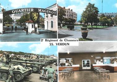 "CPSM FRANCE 55 ""Verdun"" / TANK"