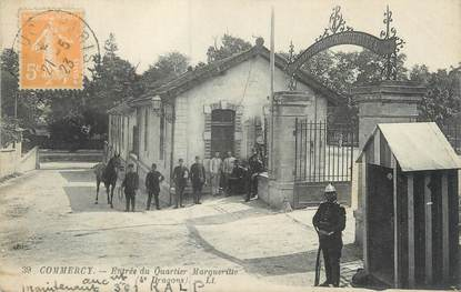 """CPA FRANCE 55 """"Commercy, entrée du quartier Marguerite"""""""