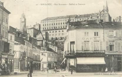 """CPA FRANCE 55 """"Bar Le Duc, rue Rousseau"""""""